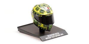 Helm AGV Valentino Rossi 2015 Sepang Test -Minichamps 1/10- 315150076