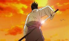 "Naruto Shippuden Sasuke Poster Silk Anime art wall decor size 12x20"" NRT24"