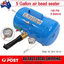 5 Gallon Bead Blaster Air Tank Tire Inflator Seater 4WD Car Tyre Pressure Gauge