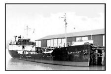 RANSDORP Australian Shipping Board 1950s modern digital Photo Postcard