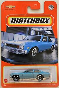 Matchbox 2021 1979 Chevy Nova # 22