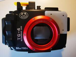 Sea frogs 60M Unterwassergehäuse Tauchen Kamera Gehäuse Case Olympus TG-4 TG-3