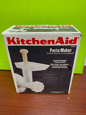 NIB new KitchenAid Pasta Maker and mixer attachment SNFGA food grinder