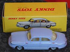 magnifique voiture DINKY TOYS Panhard P.L.17 ref 547 AVEC suspension & glaces