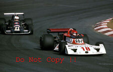 Noritake Takahara Surtees fotografía japonés TS19 Grand Prix 1976