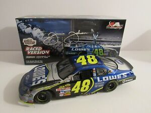 Jimmie Johnson #48 Lowe's/Brickyard Raced Win 2006 Monte Carlo SS 1 of 420 made