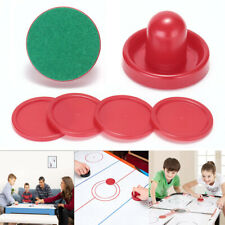 Air Hockey Set Home Table Game Accessories 2-Pucks 76mm 4-Slider Pusher 50mm US