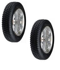 "Quantum Q6 E Wheels & Tires  (3.00-8) 14""x3""  Flat-Free  for Power Wheelchairs"