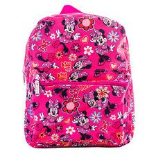 "Disney Minnie Mouse Backpack Printed kids School book bag travel 12"" Many Minnie"