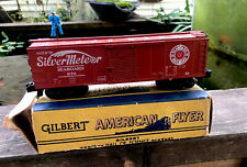 Vintage AMERICAN FLYER #970 WALKING BRAKEMAN BOX CAR NICE IN ORIGINAL BOX