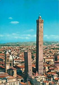 Postcard Italy Bologna the two towers