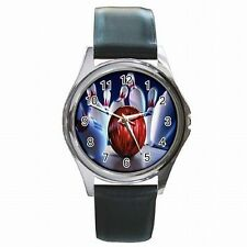 Bowler Pins Strike Bowling Ball Leather Watch New!