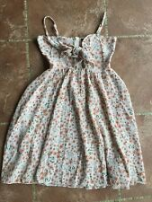 Women's White Floral Summer Dress by Shein - XS - Excellent Condition