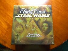 STAR WARS TRIVIAL PURSUIT Classic Trilogy Collector's Edition Rare Pewter pieces