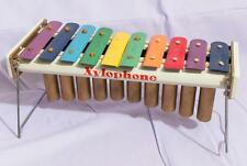 Vintage Xylophone Music Toy Tin Plate Litho Child's Musical Instrument jds