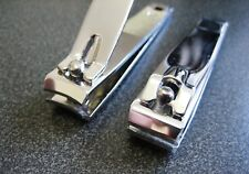 Stainless Steel Nail Clippers - Straight Cut