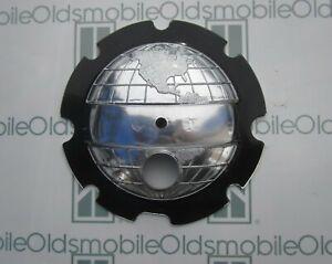 1952-1953 Oldsmobile 88 Super 88 & 98 Trunk Plastic Emblem Insert. Silver Globe