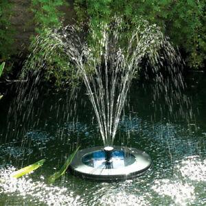 PondXpert SolarShower Float 200 Solar Fountain Pump with Multicolour LED Lights