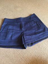 Trina Turk Blue Mini Shorts (XS)