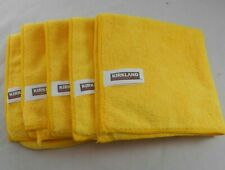 Kirkland Signature Ultra Plush Microfiber Cloth Home/Auto Use 5 Pack New