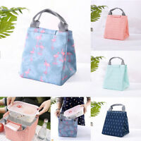 waterproof lunch bag for women kids men lunch bag canvas insulation portable TB