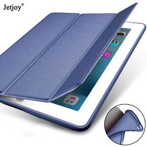 Flip Stand Silicone Case PU Leather Smart Cover For iPad 7th 10.2 2019 Mini 4/3