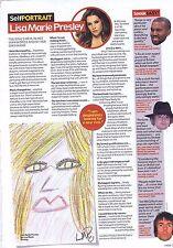 LISA MARIE PRESLEY original press clippingapprox30x20cm2012