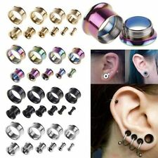 Body piercing tunnel, plug orecchie 3mm