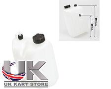 Benzina / Carburante Serbatoio 3 Litri sgancio rapido tipo NERO Caps UK KART Store