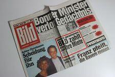 BILDzeitung 08.01.1994 Januar 8.1.1994 Geschenk 27. 28. 29. 30. Geburtstag