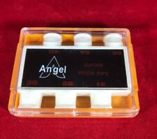 New Angel Pitch Pipe Vintage Guitar Tuner Tool Nos Free Ship