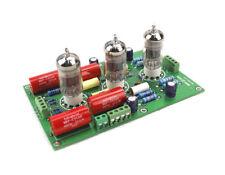 Preamplificatore stereo HI-FI  valvolare, per 3 tubi 12AX7  KIT da montare