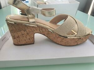 Dune Women's Sandals/Shoes In NATURAL BNIB SIZE 4 RRP £40