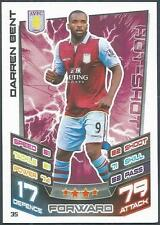 TOPPS MATCH ATTAX 2012-13- #035-ASTON VILLA-DARREN BENT