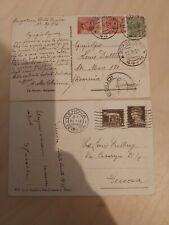 2 AK Italien Borgotaro Borgo Val di Taro 1926 u. Heiligenbild 1935 gelaufen