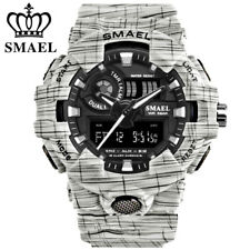 SMAEL Men Sport Watch Brand LED Digital Electronic Wristwatch Shockproof Watches