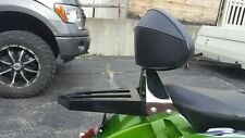 Black Backrest Sissy Bar Luggage Rack 4 Victory Cross Country Road