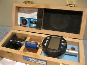 DIATEST IKT 60-2-DI 10MM-21MM INTERNAL TAPER GAGE W/CASE AND DIGITAL INDICATOR