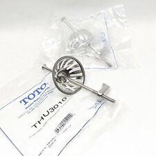 LOT OF 2 TOTO THU3010 URINAL DRAIN COVER ASSY, STAINLESS STEEL