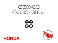 CX 500 650 500C 500D Honda Carb Rebuild Fuel Tee Connector O-rings orings seals