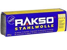 Stahlwolle lose 200g Stärkegrad 2 aufrauen /& säubern
