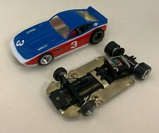 COX SUPERSCALE DATSUN 260Z ANGLEWINDER, 1973, 1/32 CUSTOM CHASSIS +STOCK CHASSIS