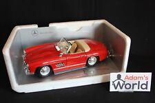 Bburago Mercedes-Benz 300 SL Roadster 1:18 red (JS)