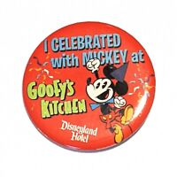 """""""I Celebrated with Mickey at Goofy's Kitchen"""" * 2 7/8"""" Pin  * Combine Shipping!"""