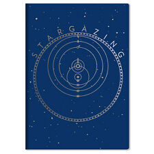 Stargazing Pocket NoteBook with Art Images To Chart The Universe NEW UNUSED