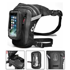 Men Motorcycle Drop Leg Bag Tactical Military Belt Waist Fanny Pack Outdoor Bag