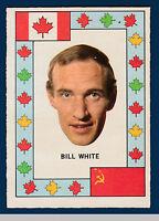BILL WHITE 72-73 TEAM CANADA O-PEE-CHEE 1972-73  NRMINT++2
