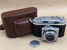 Agfa Karomat 36 - GERMANY US ZONE- RARE Rangefinder Vintage Camera w/ case