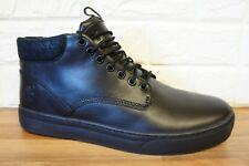 Timberland Mens Size 10.5 Adventure 2.0 Cupsole Black Leather Boots Shoes BNWB