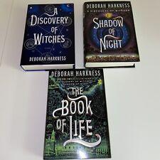 All Souls Trilogy Set By Deborah Harkness Books 1 2 3 Hardcover VG